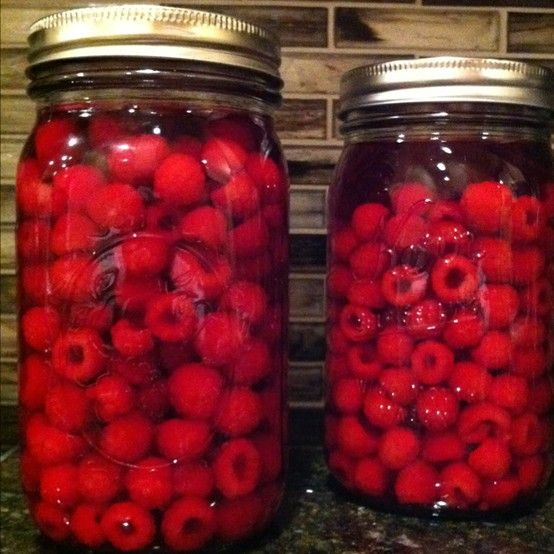 Raspberry Infused Vodka recipe from Hobby Farm Magazine Even MORE if you click the image!