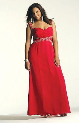 Vestidos de fiesta para Gorditas color Rojo   vestidos para gorditas ... c03cf281f5