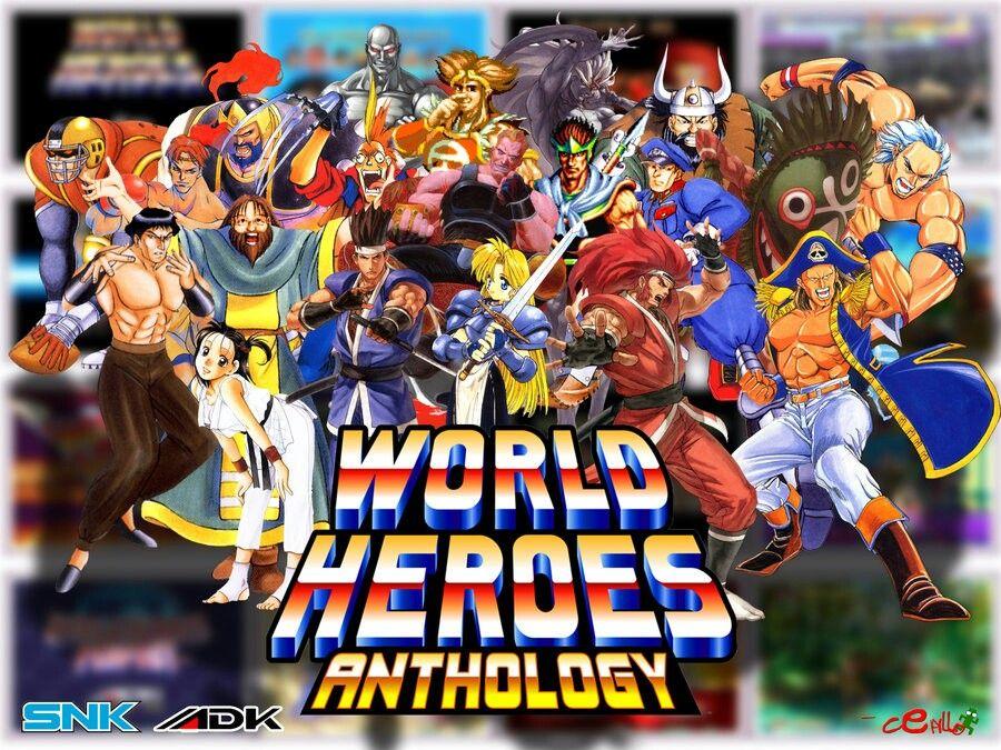 World Heroes Adk Snk Hero World Hero Wallpaper Hero
