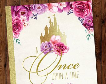 Once Upon a Time InvitationLittle Princess InvitationLittle