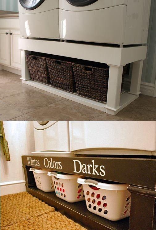 w schetruhe unter waschmaschine trockner do the laundry pinterest waschmaschine trockner. Black Bedroom Furniture Sets. Home Design Ideas