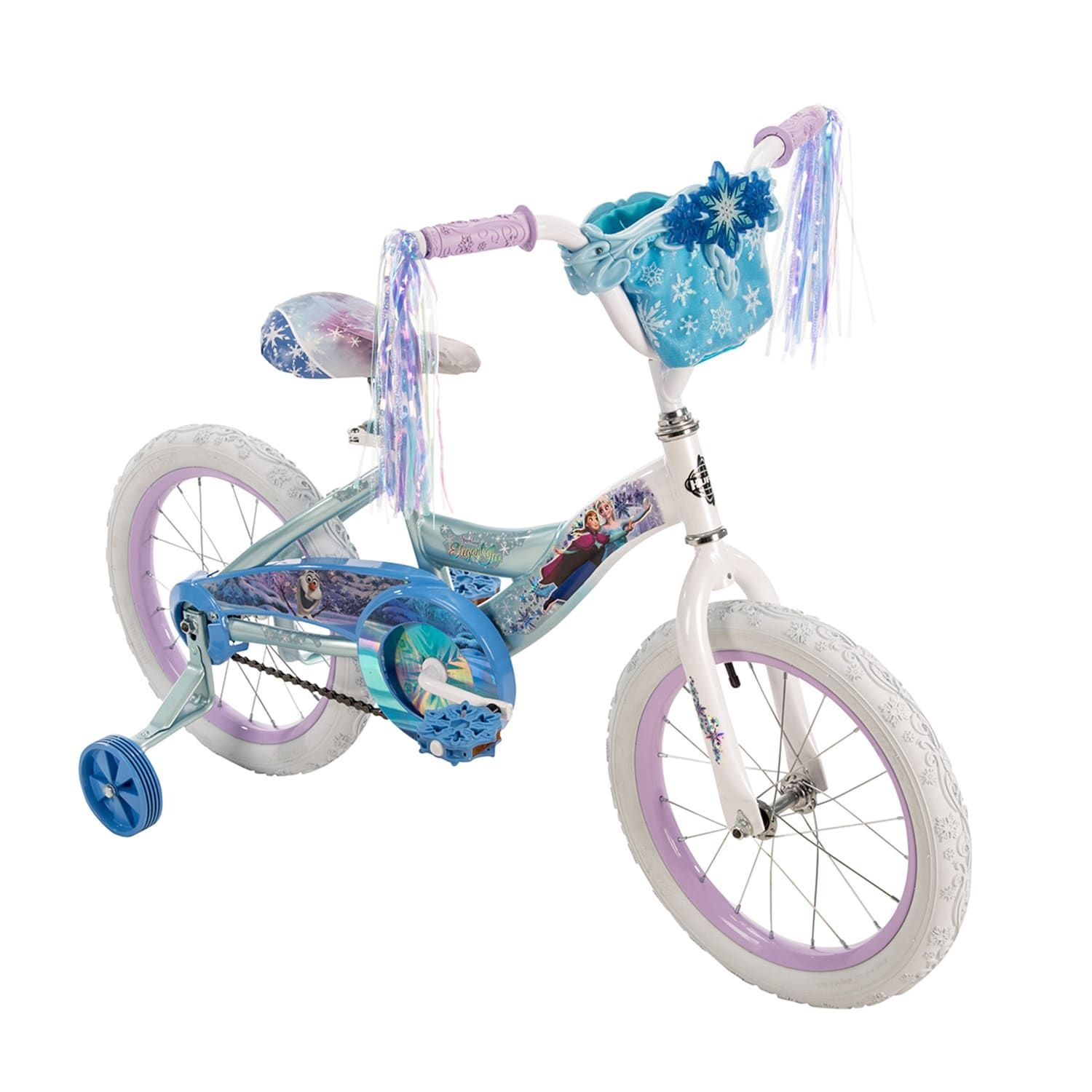 Disney S Frozen Kids 16 Inch Bike With Handlebar Bag By Huffy