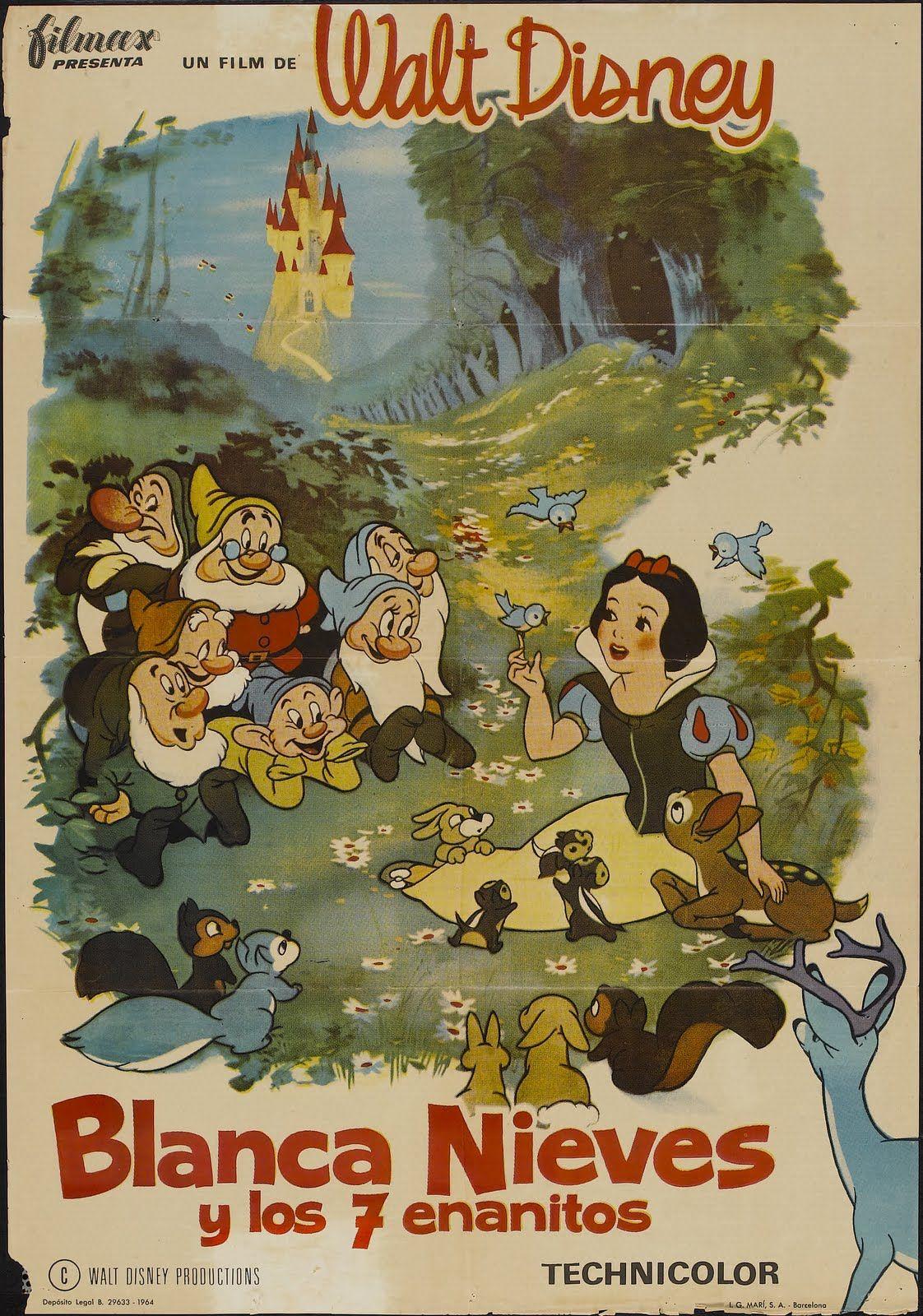 snow white and the seven dwarfs disney