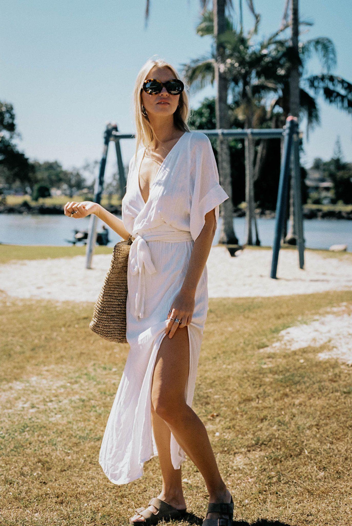 MELODY MAXI DRESS | WHITE |