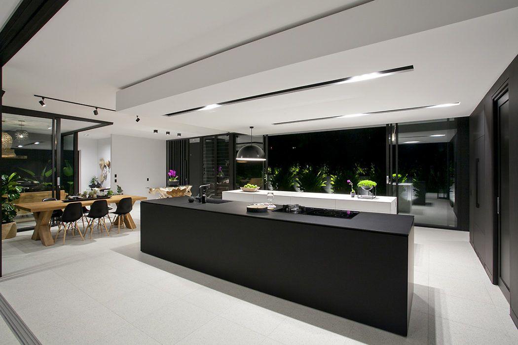 Glasshouse by sarah waller architecture cuisine en 2018 pinterest maison cuisine moderne - Cuisine minimaliste ...