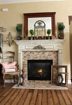 country fireplace mantels french country fireplace traditional rh pinterest com Country Fireplace Mantel Shelves Cedar Fireplace Mantels