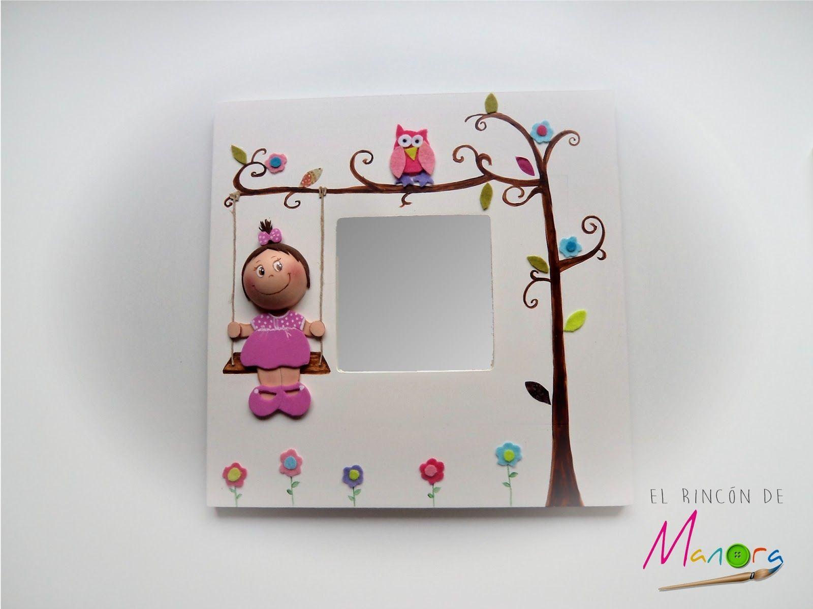 Espejo con fofucha mini-yo | Colores | Pinterest | Mini yo, Espejo y ...