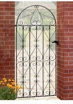 Regent Bow Top Gates Wrought Iron Driveway Gates Garden Gates