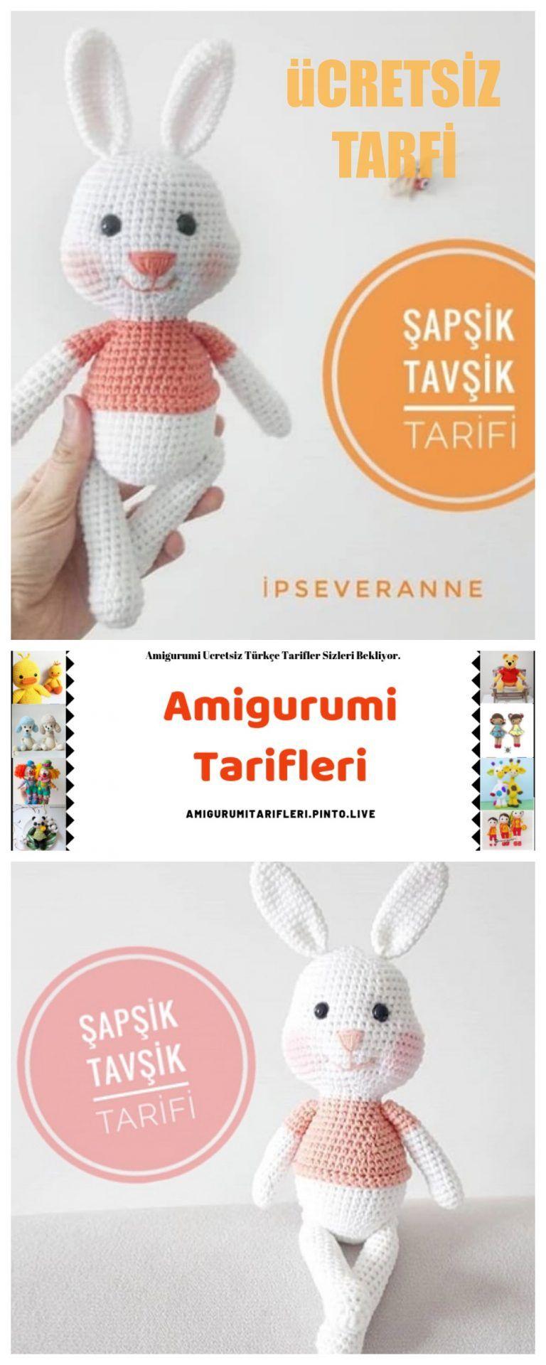 Photo of Amigurumi Rabbit Making – Amigurumi – English Free …