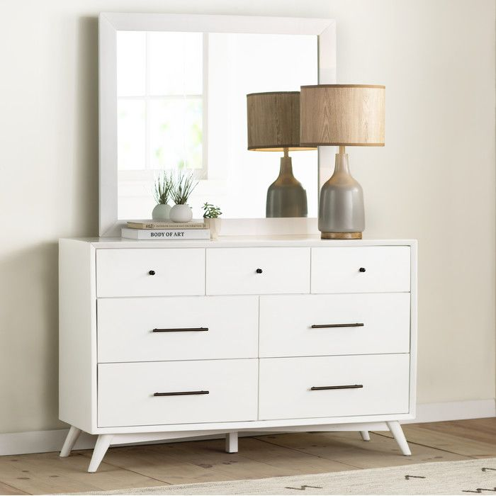 Langley Street Parocela 7 Drawer Dresser U0026 Reviews  Wayfair Parocela Drawer Dresser72