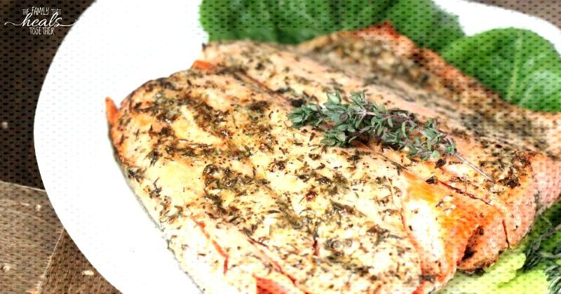 The Tasty 10 Minute Oven Cooked Salmon Recipe with Lemon amp Thyme - 10 Minute Oven Cooked Salmon Re