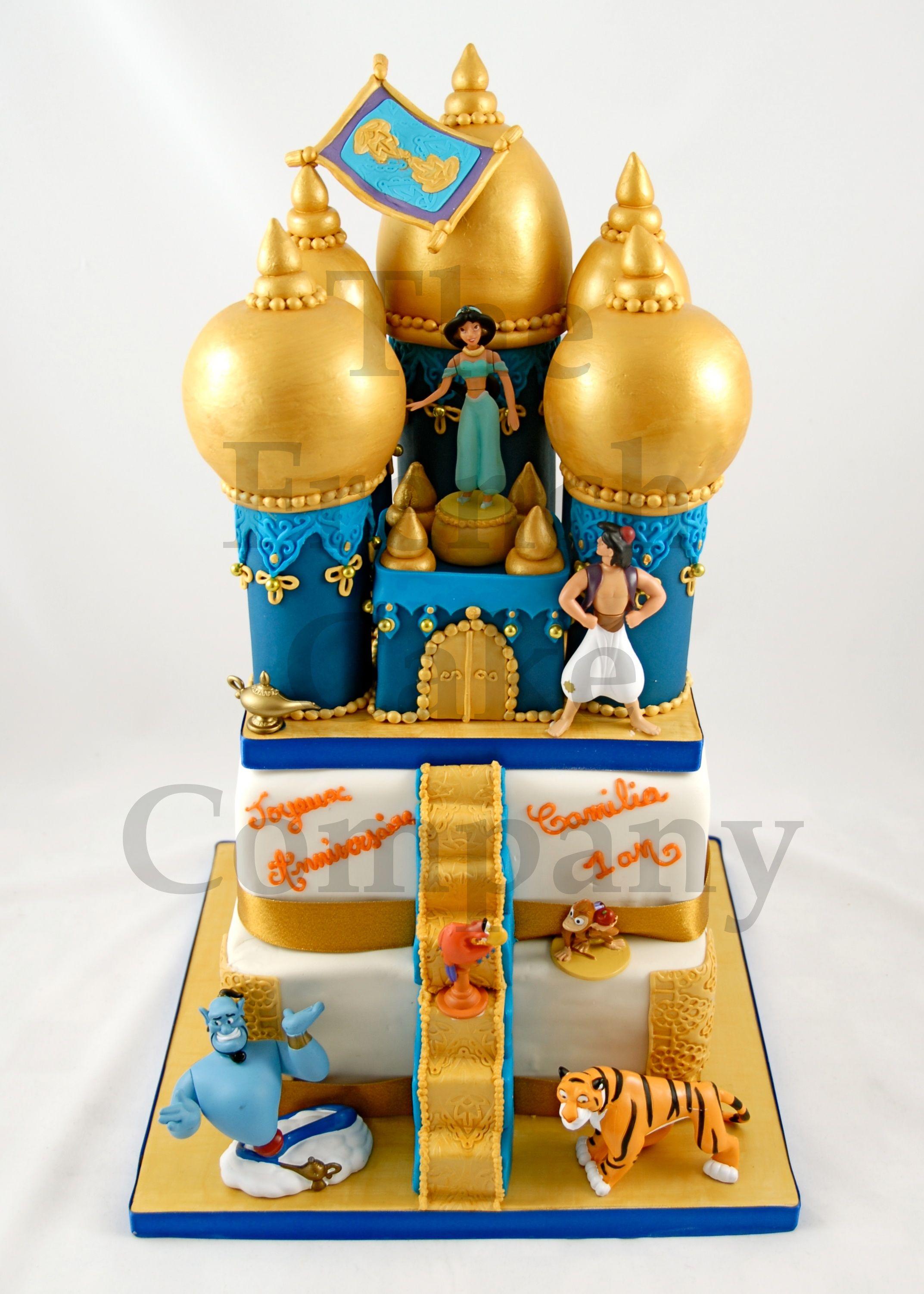 cake for our little princesses jasmine 39 s kasbah cake. Black Bedroom Furniture Sets. Home Design Ideas