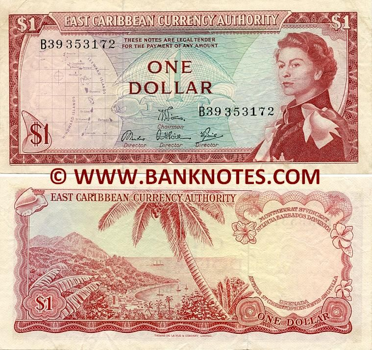 St Lucia Currency 1 Dollar