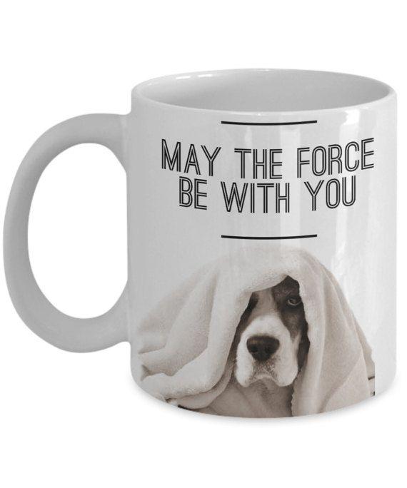 Beagle Mug Star Wars May The Force Be With You Funny Beagle Mug