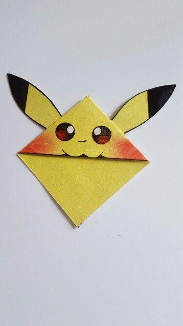 Handmade Pikachu Style Bookmark