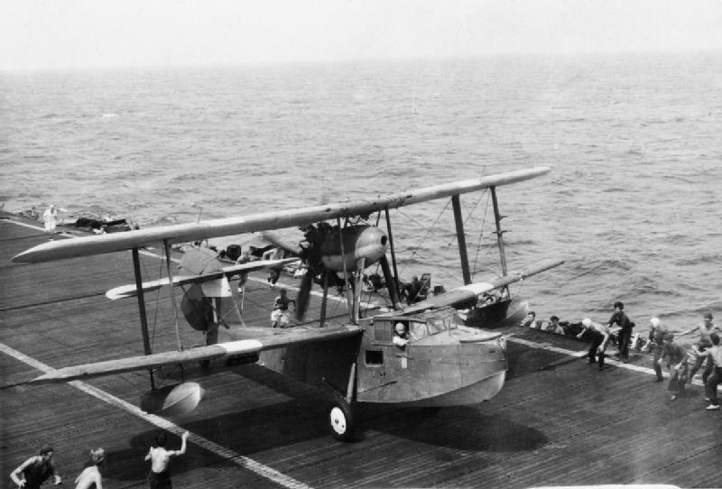 Walrus carrier landing - Supermarine Walrus - Wikipedia, the