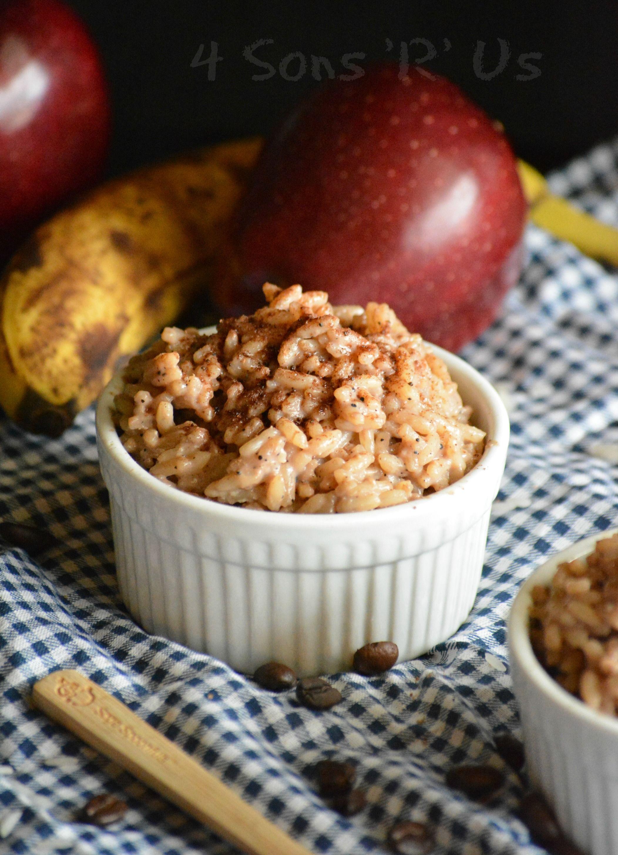 Tiramisu Rice Pudding – 4 Sons 'R' Us
