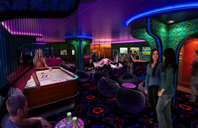 Norwegian Epic Cruise Ship Video Game Rooms Epic Kids Rustic Games