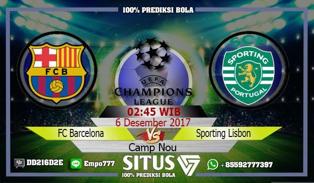 Info Prediksi Jitu SepakBola Barcelona VS Sporting Lisbon ...