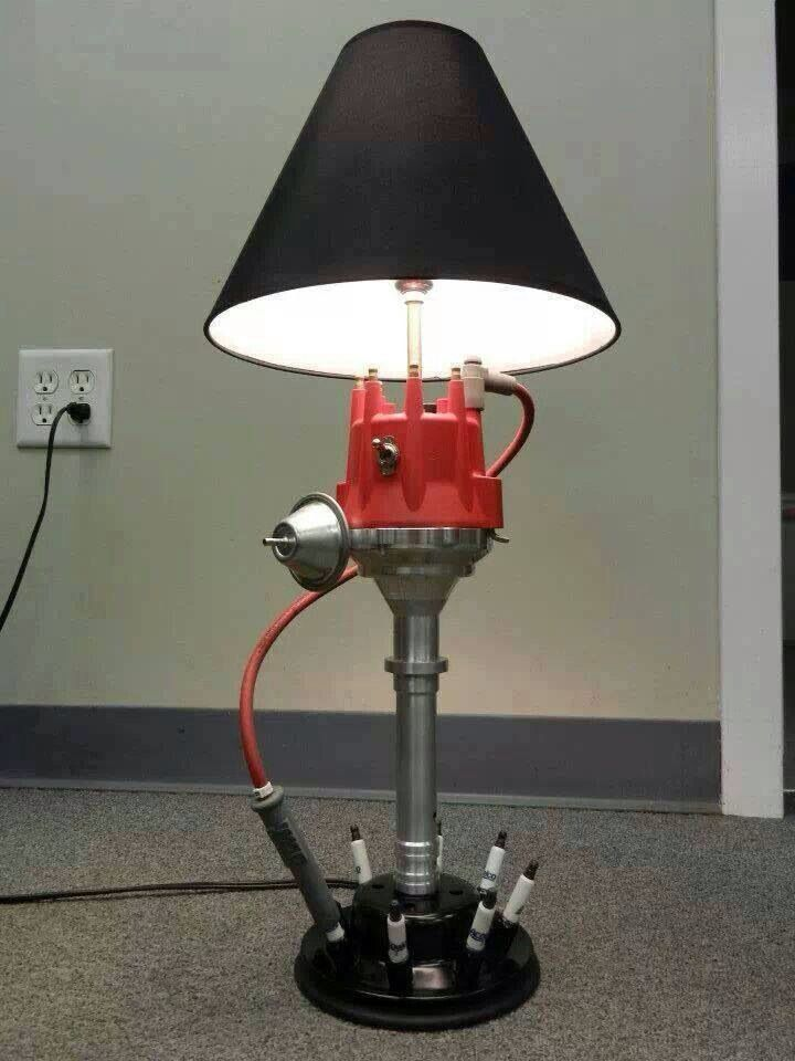 Distributor Lamp  Iu0027d Make The Spark Plug Wire Turn The Light On And Off!