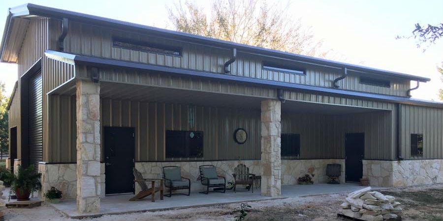 Metal Homes That Are Custom Built Barndominium