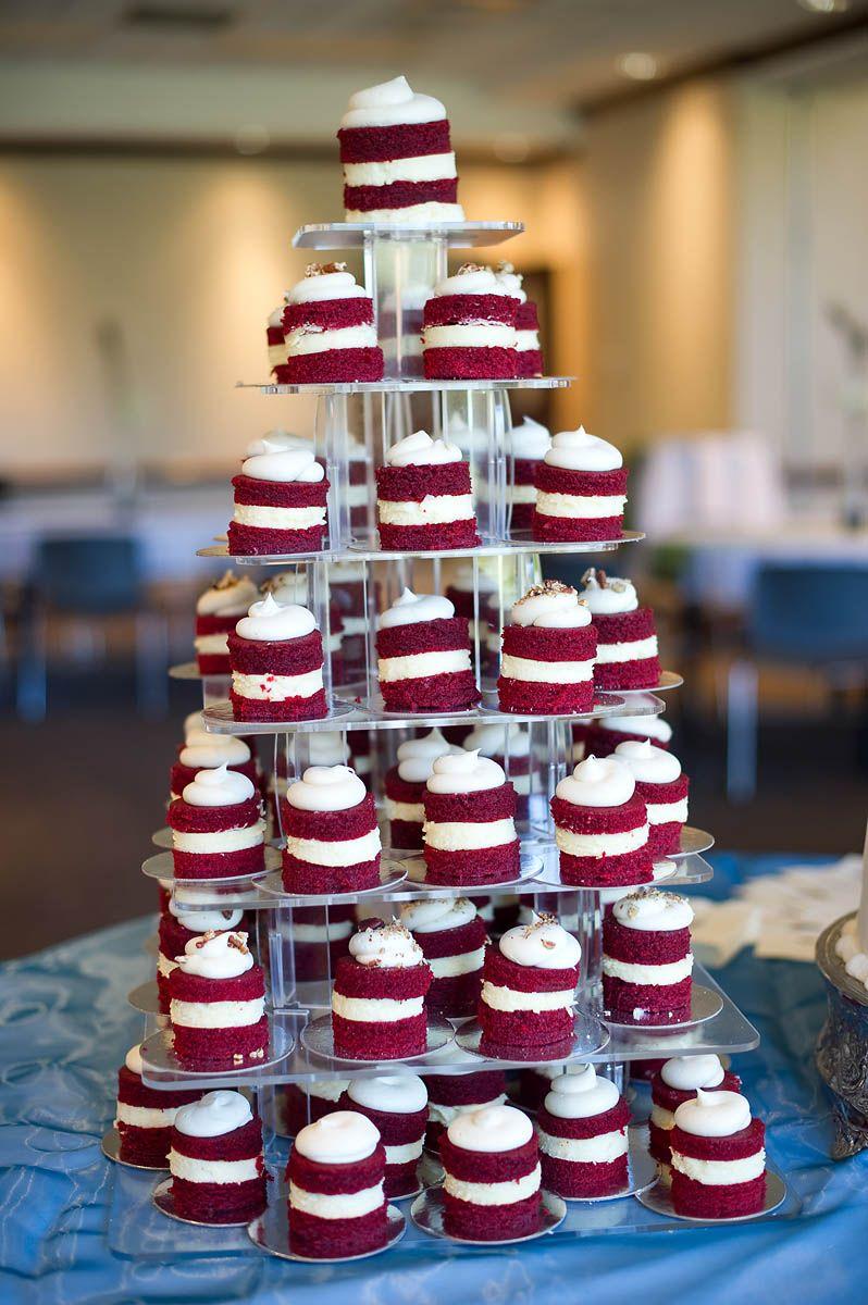 Grooms Cake Red Velvet And Cheesecake White Wedding