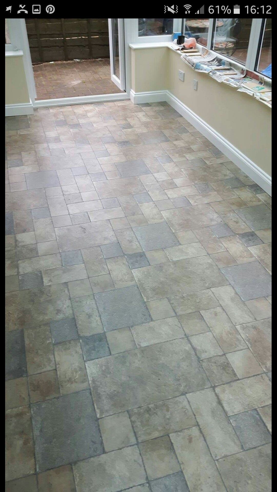 1st Sigma Installation Of Random Tile Effect Laminate Flooring