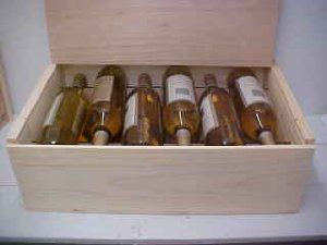 Twelve Bottle Wine Box With Slide Top By Poole Sons Inc 24 50 19 3 4 X 13 X 6 1 2 Inside Dimensions Guillotine Di Wine Box Wine Bottle Wine Rack Wall