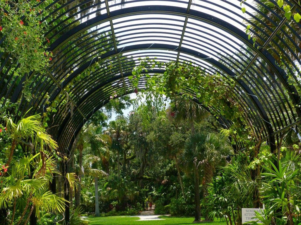 Pergola entrance to McKee Botanical Garden. #Florida #Travel | Step ...