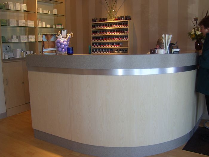 reception desk - Salon Reception Desk