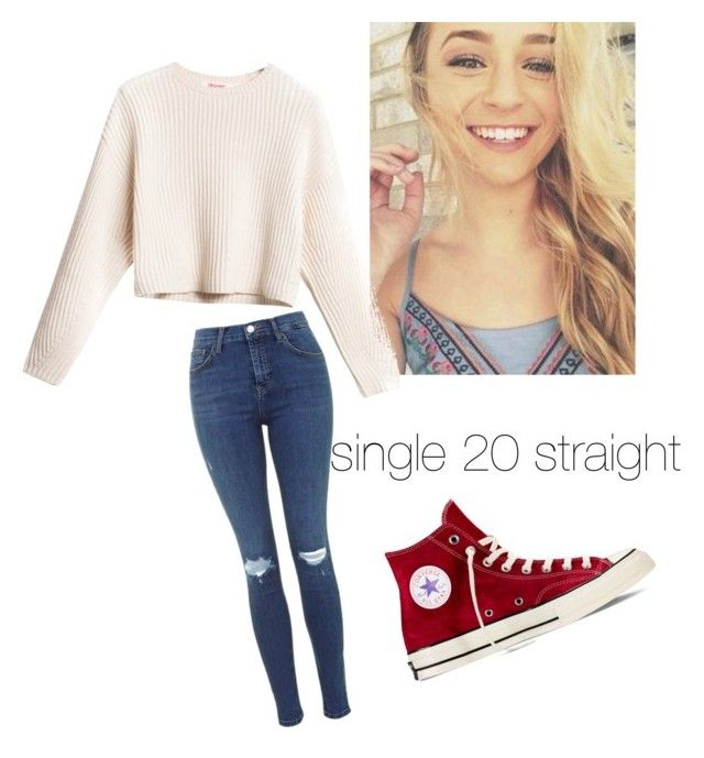 """re-intro -jasmine"" by unicorn5719 ❤ liked on Polyvore featuring Converse"