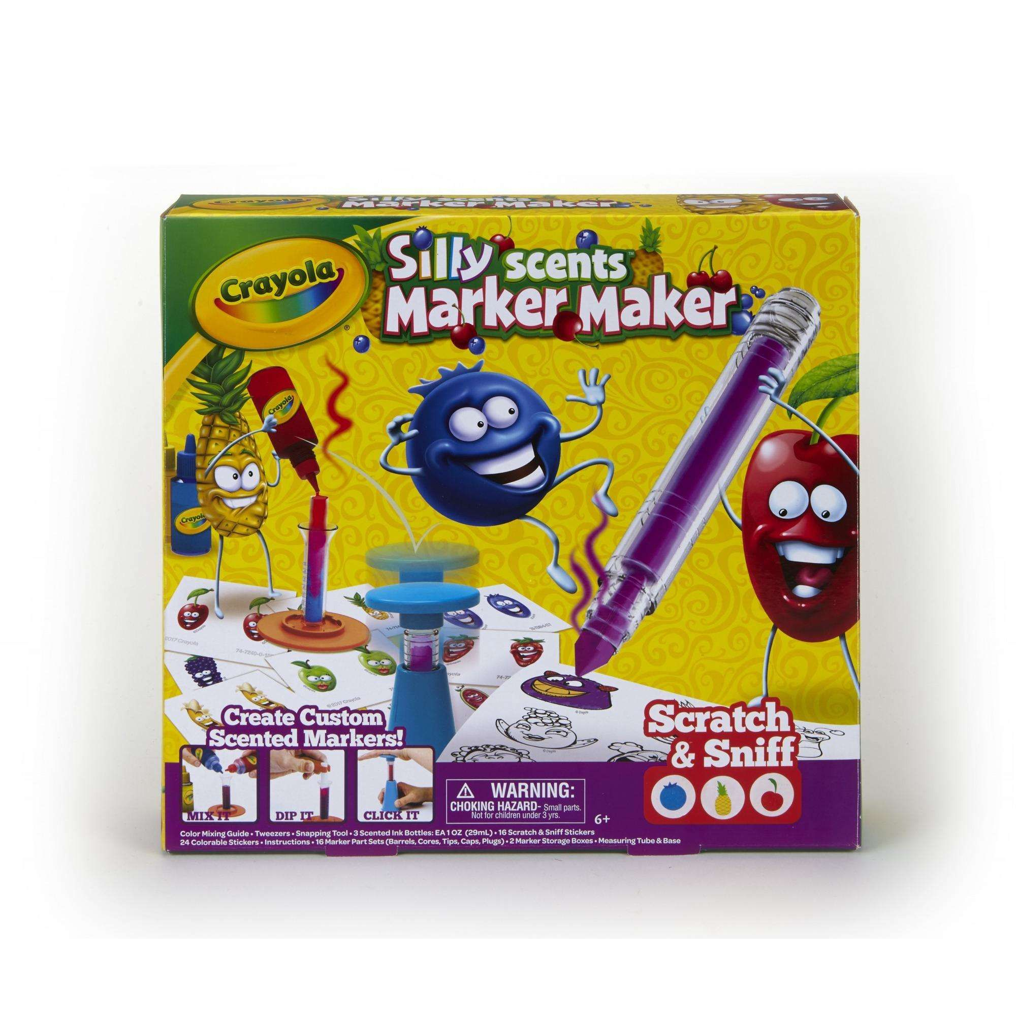 Crayola silly scents marker maker scented markers gift