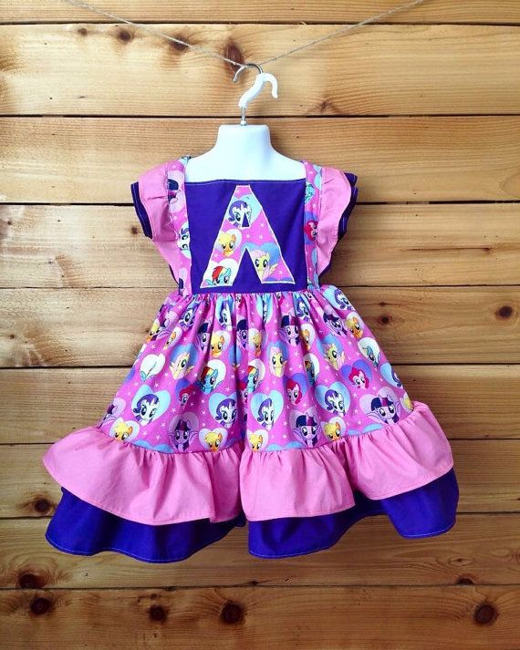 CUSTOM Double Flutter Dresses by Chicklettes on Etsy