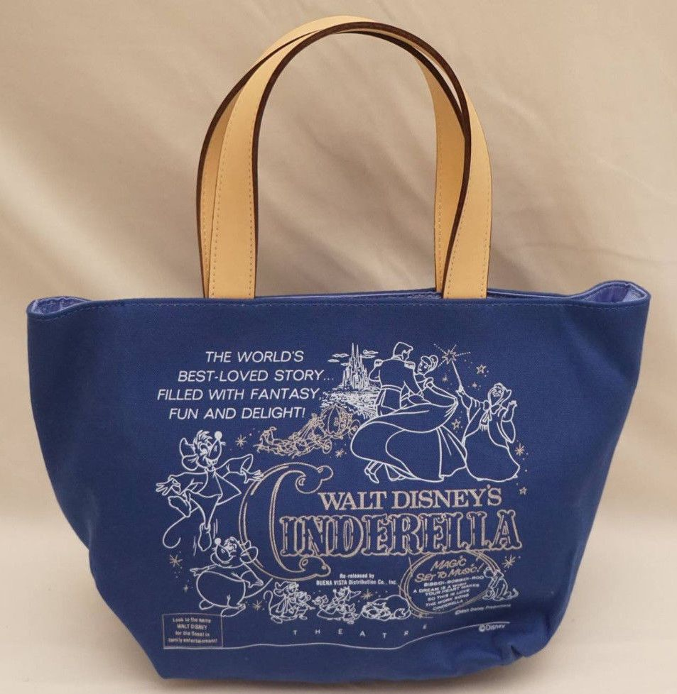 eb83c3bf8d SAMANTHA THAVASA COLORS Disney CINDERELLA Purse Tote Handbag NEW Movie  Poster