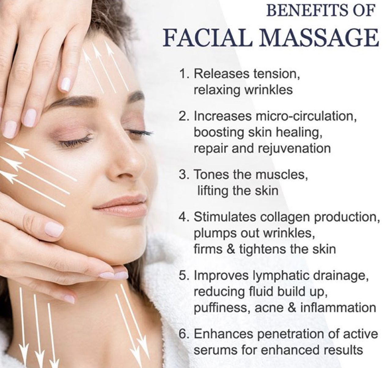 Benefits Of Facial Massages Facial Massage Benefits Facial Massage Facial Massage Roller