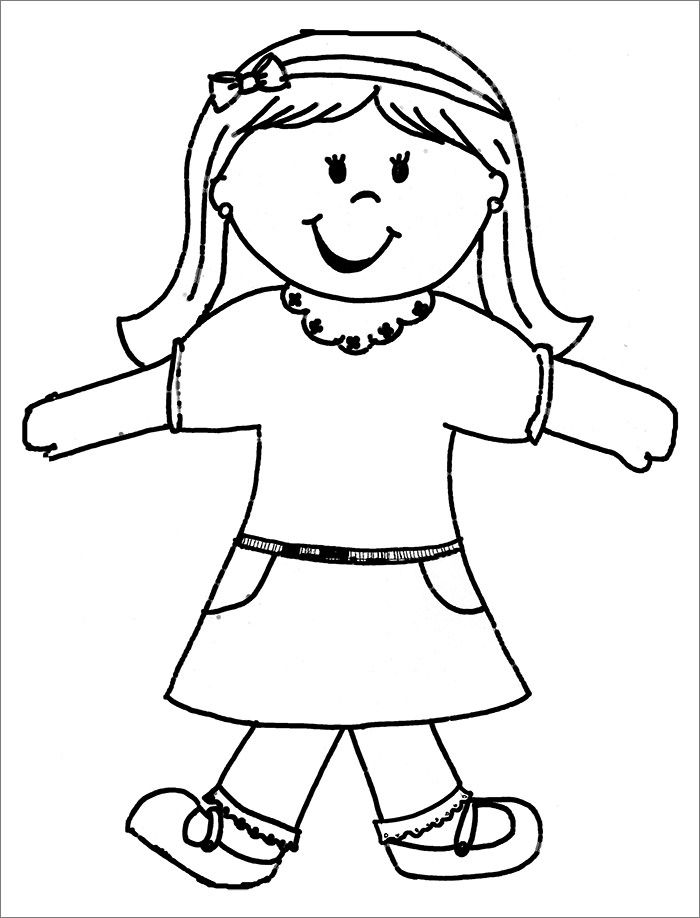 17 Free Flat Stanley Templates Colouring Pages To Print Flat