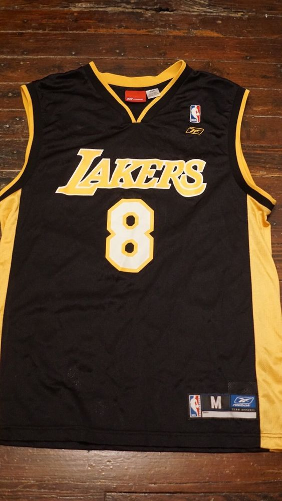 0bea95826b68 Reebok Kobe Bryant 8 Los Angeles Lakers Jersey