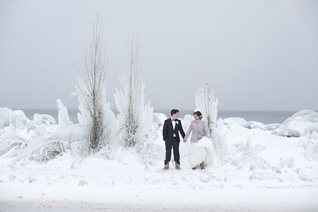 Frozen Winter Wonderland Wedding