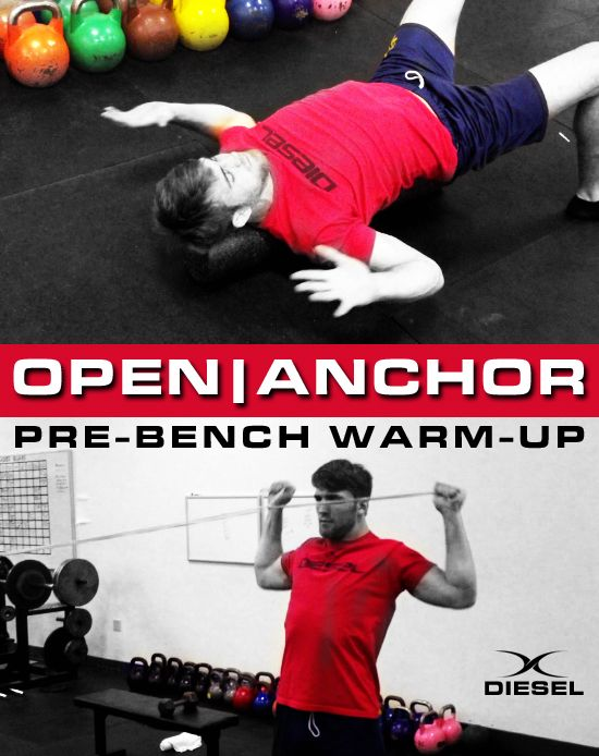 Bench Press More Weight With This Simple Warm Up Diesel Sc Bench Press Warmup Warm Up Routine