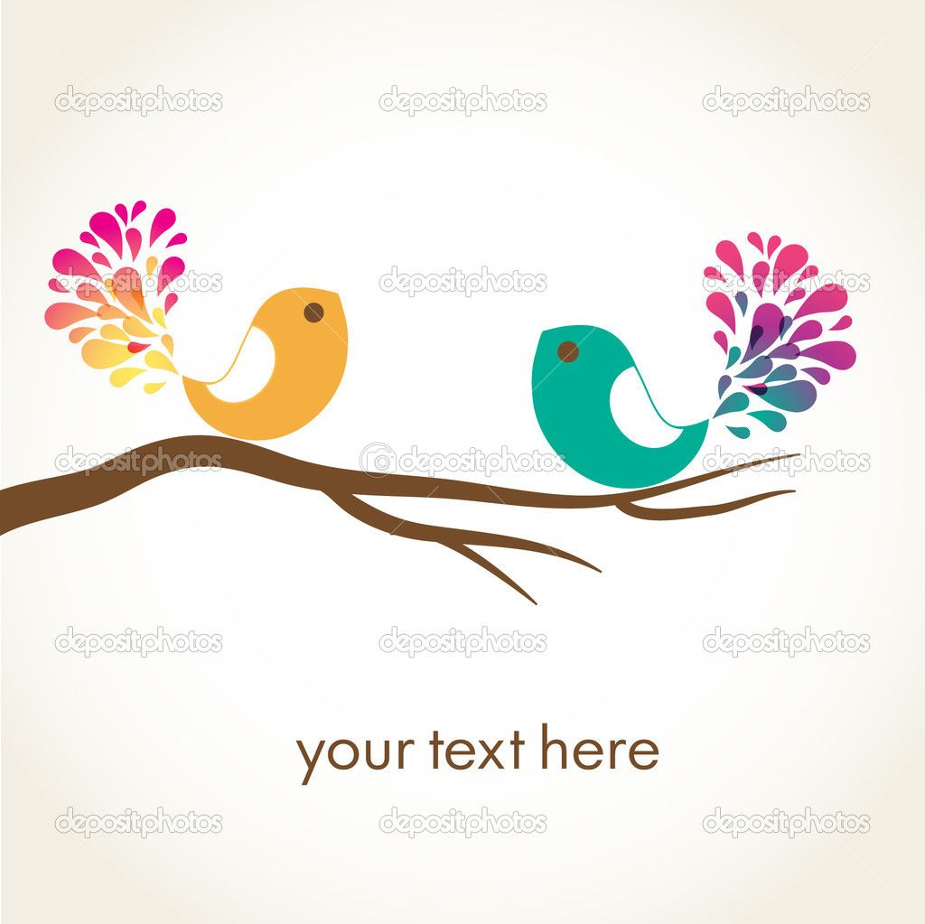 Vector Love cartoon Wallpaper : cartoon birds cute cartoon Love Birds Wallpaper Backgrounds Pictures bird pix Pinterest ...