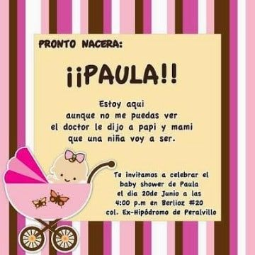 Ideas De Frases Para Un Baby Shower Emotivas Y Originales