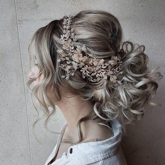 Wedding Hairstyle Messy Bun: Boho Messy Bun Hairstyles,Messy Updo Hairstyles, Braid