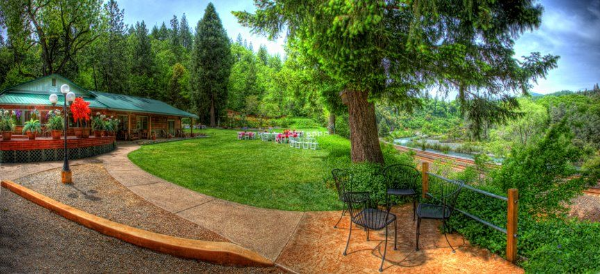 Located On The Wild And Scenic Upper Sacramento River Just A Short 25 Minute Drive From Redding Sits One Of Most Unique Wedding Venues