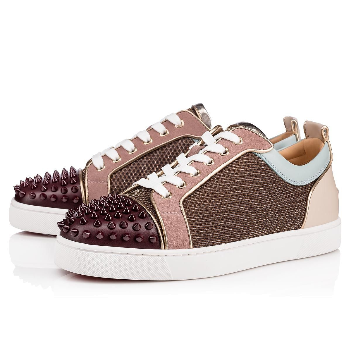 outlet store 772a4 57929 CHRISTIAN LOUBOUTIN Louis Junior Spikes Orlato Men's Flat ...