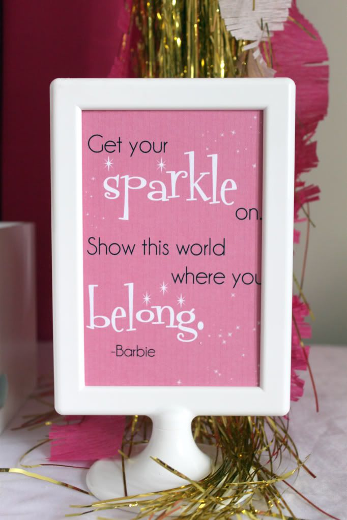free Barbie Print by Sweet and Simple Cloe4 Pinterest Barbie