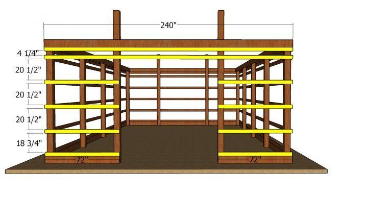20x30 pole barn free diy plans myoutdoorplans free