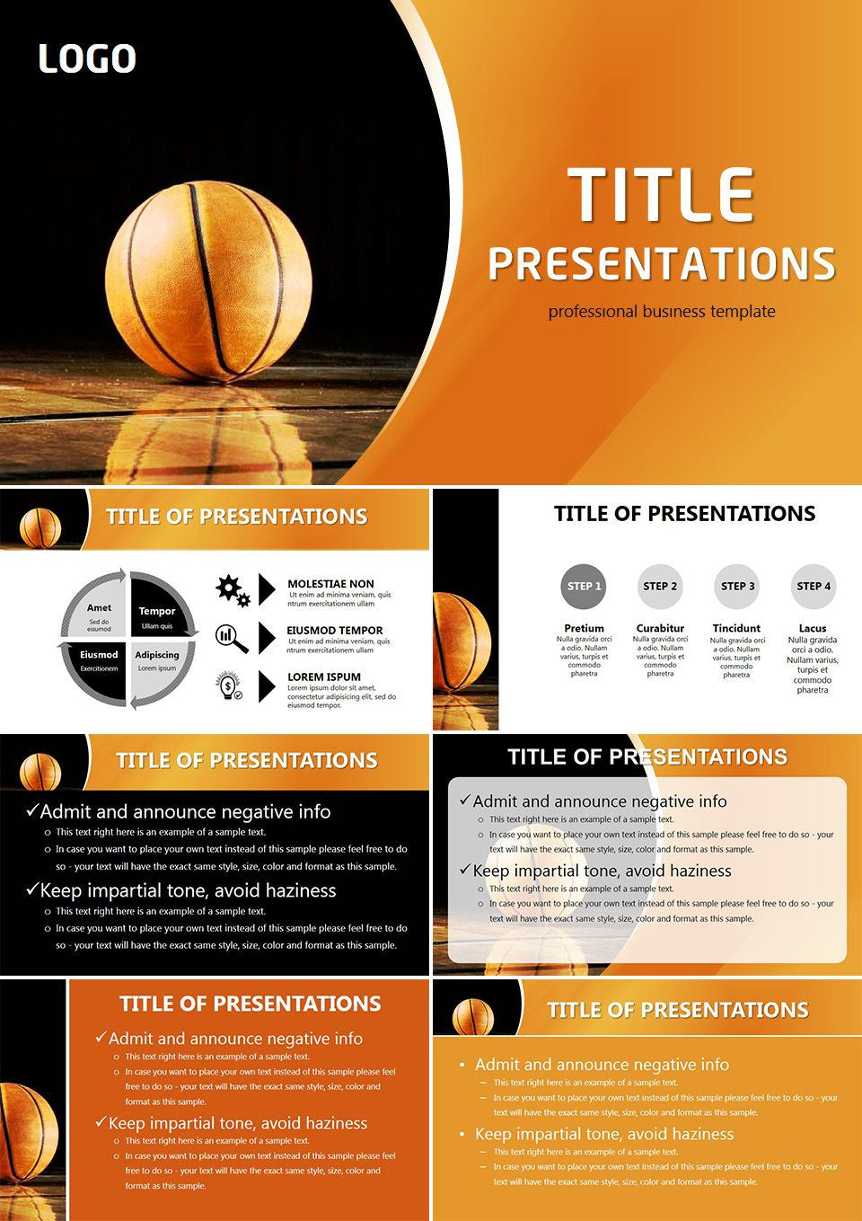 goods for basketball powerpoint templates