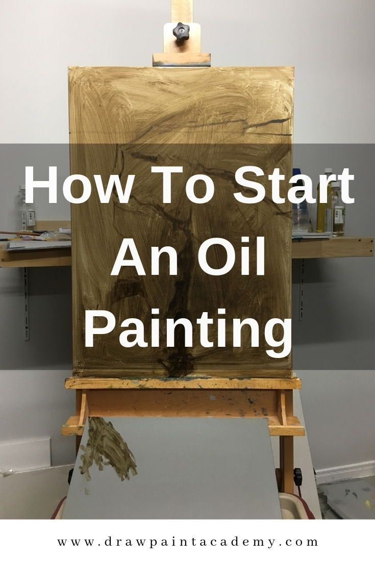 How To Start An Oil Painting is part of Art painting oil, Oil painting tutorial, Oil painting lessons, Art painting, Oil painting tips, Oil painting - Claude Monet, Self Portrait In His Atelier, 1884 The most difficult strokes to make in an oil painting are the first and last strokes  The first strokes because you may not know where to start and the last strokes because you may not know when to stop  This post is all about how to start an oil painting to help you make those first strokes  The Glaring White Canvas The glaring white canvas tends to be an intimidating force  As Vincent van Gogh once said 'The canvas has an idiotic stare and mesmerizes some painters so much that they turn into