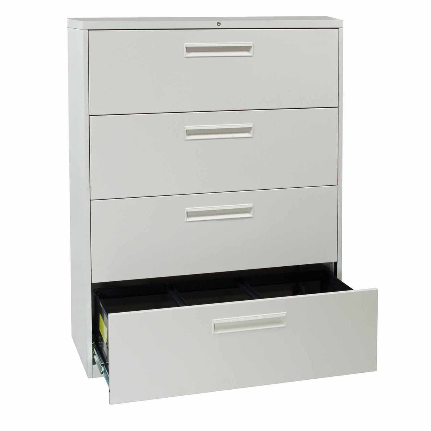 Haworth 4 Drawer Lateral File Cabinet
