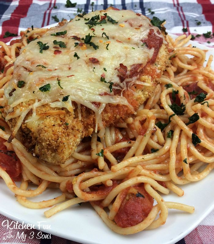 Chicken Parmesan recipe in the Air Fryer great easy